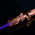 4W oxlasers BX980 450nm 4000mw focusable burning blue laser pointer laser sabler