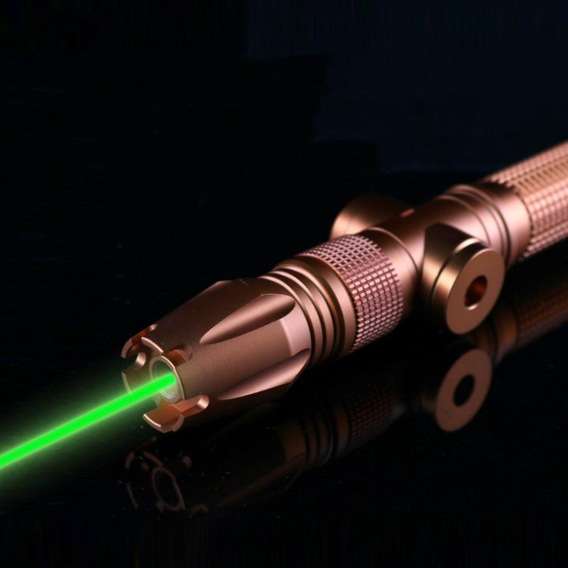 OXLasers OX-GX980 1W 520nm Focusable Burning Green laser pointer