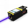 oxlasers 5.5W 5500mW focusable 445nm 450nm blue laser module for laser engraver