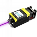 oxlasers 500mw 405nm UV laser modules for laser engraving machine with pwm ttl
