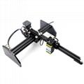 oxlasers 3000mw 3.5W GBRL PWM blue laser engraver DIY CNC laser cutting machine