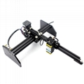 oxlasers 3000mw 3.5W GBRL PWM blue laser engraver DIY CNC laser cutting machine 1