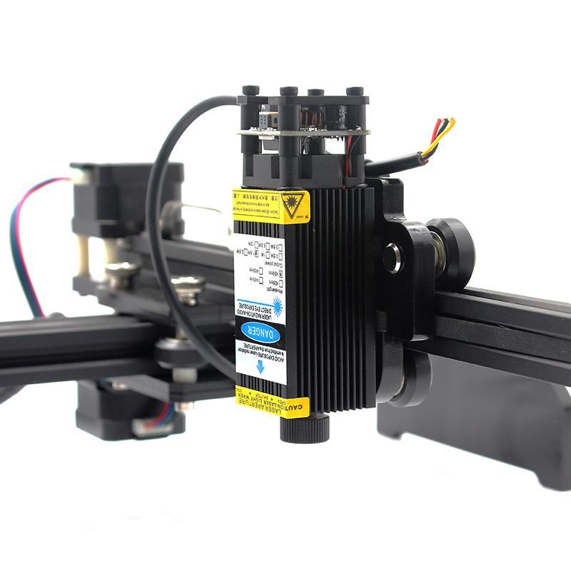 oxlasers 3000mw 3.5W GBRL PWM blue laser engraver DIY CNC laser cutting machine 2