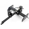 oxlasers 3000mw 3.5W GBRL PWM blue laser engraver DIY CNC laser cutting machine 3
