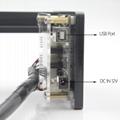oxlasers 3000mw 3.5W GBRL PWM blue laser engraver DIY CNC laser cutting machine 5