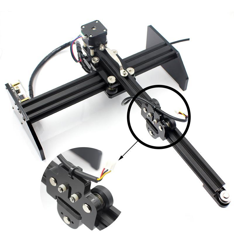 oxlasers 3000mw 3.5W GBRL PWM blue laser engraver DIY CNC laser cutting machine 7