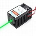 520nm TRUE 1W green laser module dot diode laser 1000mW TTL Laser BIRD REPELLER