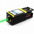 520nm 1W Green Laser Module 12V Focusable DIY 1000mW Laser Bird Repellent