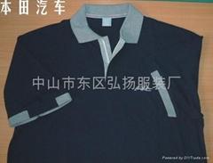 中山工作服,中山广告衫,中山文
