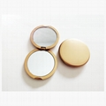 ABS双面磁扣广告镜塑料口袋镜 2