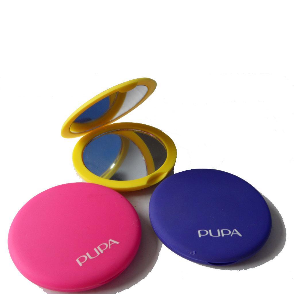 ABS雙面磁扣廣告鏡塑料口袋鏡 4