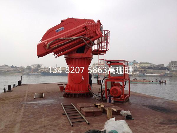 上海BANGDING液压伸缩折臂吊机 2