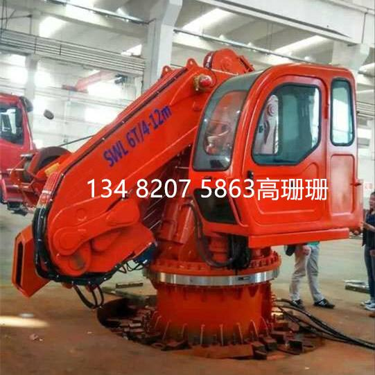上海BANGDING液压伸缩折臂吊机 3