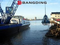 上海BANGDING绳索多瓣抓斗 机械梅花抓斗