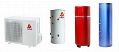 志高家用空气能热水器KF160/500L