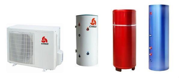 志高家用空气能热水器KF80/150L 1