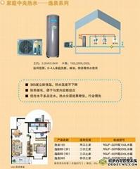 逸泉系列——美的空氣能熱泵熱水器