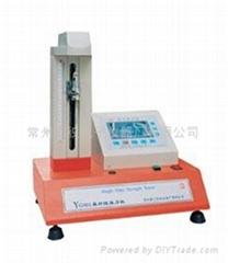 常州二紡YG001A電子單纖維強力機