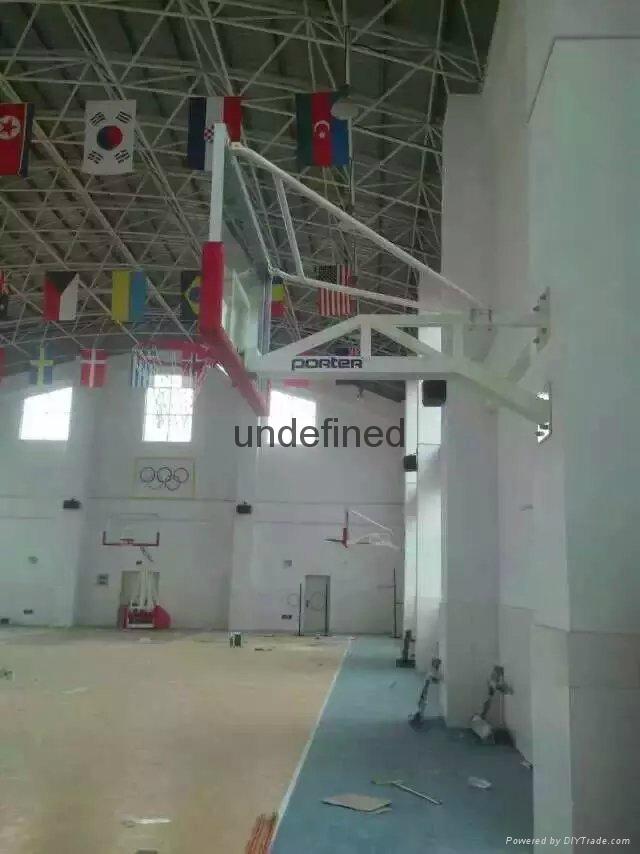 牆壁籃球架 1