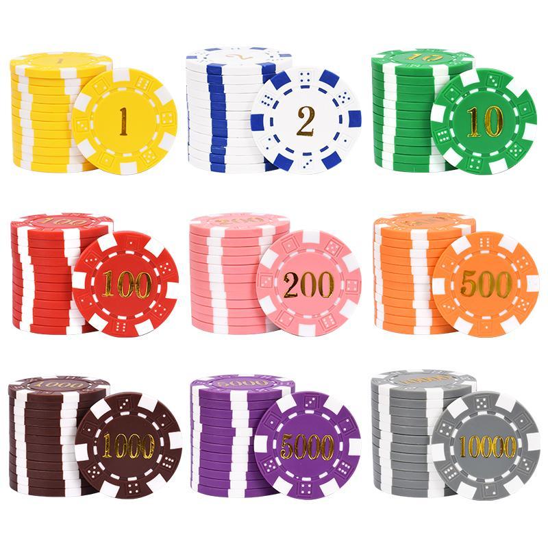 chips set(poker chips & dice chips) 4