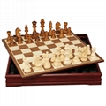 chess set wooden chess set