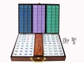 Chinese mahjong set(crystal mahjong