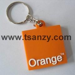 促销pvc礼品钥匙扣