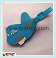 promotional airplane pvc l   age tags/ bag tags
