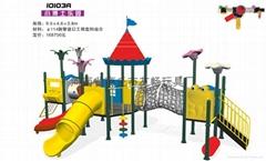 大型儿童组合滑梯