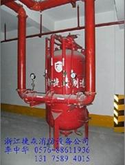 闭式水喷淋联用系统