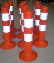 優質橡膠警示柱南寧有賣PVC警示柱
