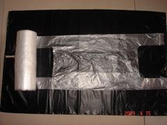 HDPE T-shirt bag on roll