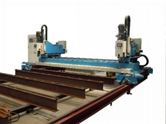 Steel bridge drilling machine