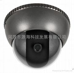 彩色半球攝象機