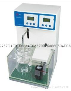 藥廠實驗室單杯六管智能崩解時限測試儀 1