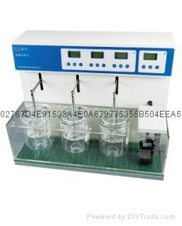 藥廠實驗室單杯六管智能崩解時限測試儀 3