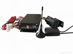 Vehicle GPS tracker with web based tracking solution