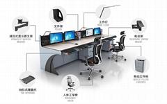 高端操作台 調度台 多媒體講台 控制台
