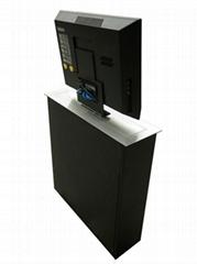 无纸化 超薄含屏升降器 17.3寸超薄一体机