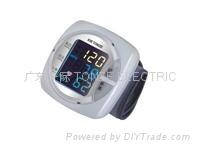 彩屏腕式電子血壓計