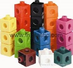 连接方块|正方体拼块|正方体|插块|正方拼插块