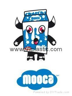 牛奶公仔奶牛玩具牛奶玩具牛奶金魚罐子固定器 7