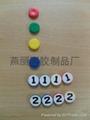 fridge magnet PVC magnetic sticker refrigerator poker chips keychain 3