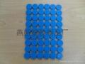 fridge magnet PVC magnetic sticker refrigerator poker chips keychain 5