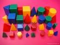 微型几何体|智力拼块|智力砖|