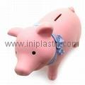 豬仔錢罐|小豬錢罐|儲錢罐|儲蓄罐|小豬錢筒|黑白豬錢缸 1