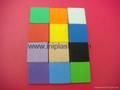 EVA1寸磁性方砖|EVA垫片| EVA片材 |EVA方块