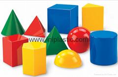 塑料几何体|塑胶几何模型|培训用具|智力玩具