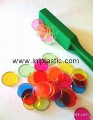magnet wand plastic dics magnetic bars magnetic chips educational tools
