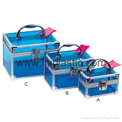 透明手提箱 胶箱 储物箱 亚克力箱 1